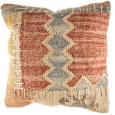 Natural Woven Patterned Pillow Cover